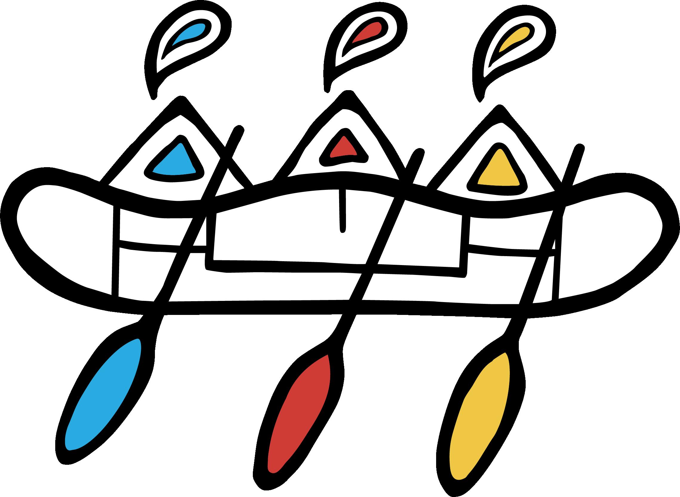 NAIG - ICON - RGB - Boat - FC_White canoe